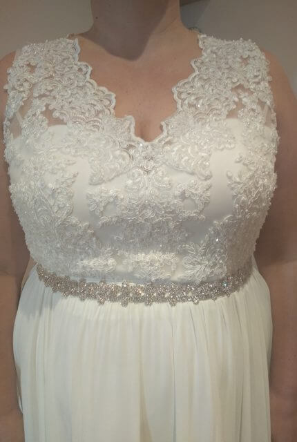 Bespoke / Other – Size 22 A-Line dress | Second hand wedding dresses South Morang - 4