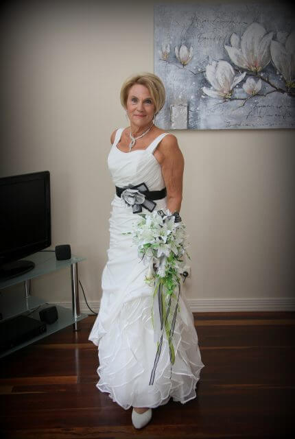 Bespoke / Other – Size 12 Fit and Flare dress | Second hand wedding dresses Mt Tamborine - 2