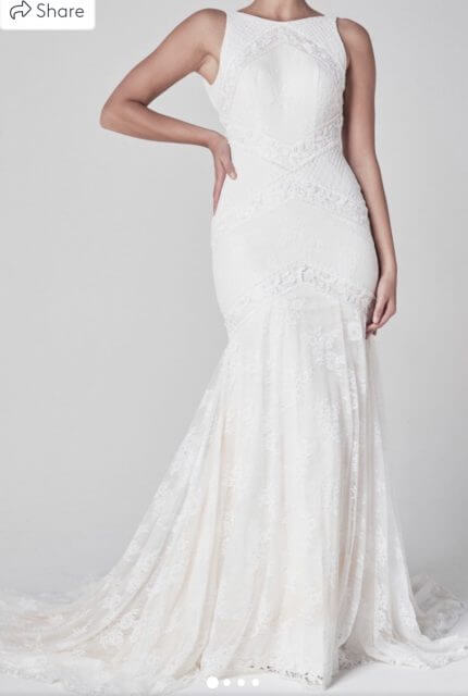 One Day Bridal – Size 10 Fit and Flare dress | Second hand wedding dresses Woollahra - Size 10