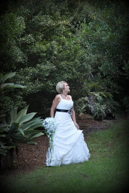 Bespoke / Other – Size 12 Fit and Flare dress | Second hand wedding dresses Mt Tamborine - 5