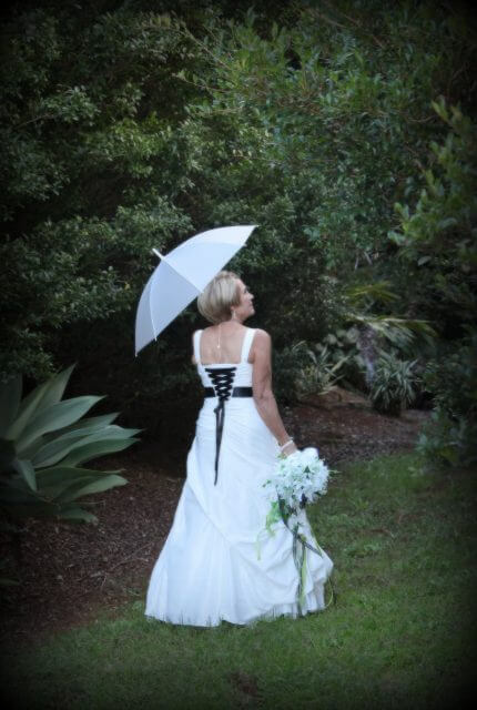 Bespoke / Other – Size 12 Fit and Flare dress | Second hand wedding dresses Mt Tamborine - 3