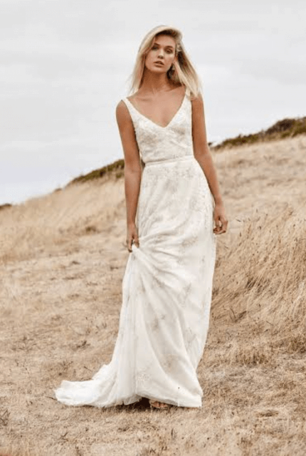 Karen Willis Holmes – Size 10 A-Line dress | Second hand wedding dresses Heathridge - Size 10
