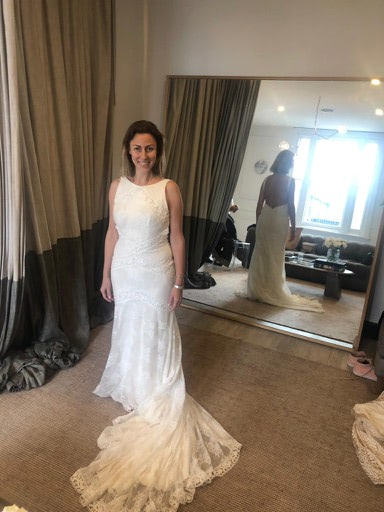 One Day Bridal – Size 10 Fit and Flare dress | Second hand wedding dresses Woollahra - 5