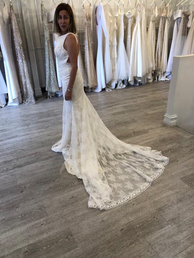 One Day Bridal – Size 10 Fit and Flare dress | Second hand wedding dresses Woollahra - 4