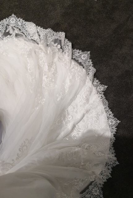 Tuscany Bridal – Size 10 Fishtail dress | Second hand wedding dresses Perth - 2
