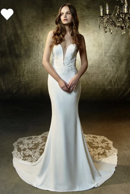 Enzoani – Size 10 Strapless dress | Second hand wedding dresses Dianella - 2