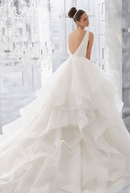 Mori Lee – Size 10 Ball Gown dress | Second hand wedding dresses Leichhardt - Size 10