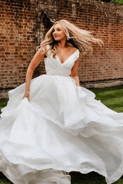 Mori Lee – Size 10 Ball Gown dress | Second hand wedding dresses Leichhardt - 2