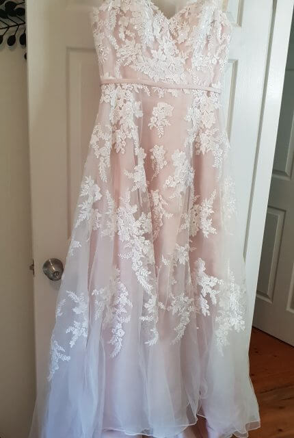 Bespoke / Other – Size 14 A-Line dress | Second hand wedding dresses CONSTITUTION HILL - 5