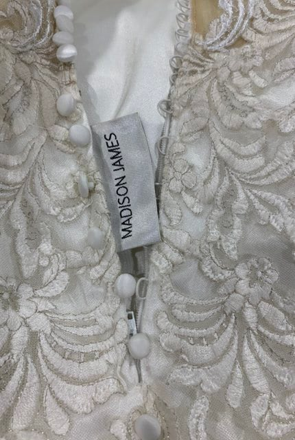 Madison James – Size 10 Fit and Flare dress | Second hand wedding dresses Kinross - 4