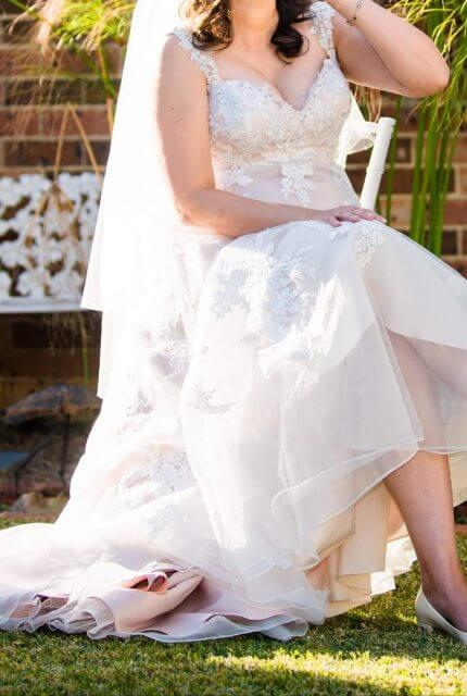 Bespoke / Other – Size 14 A-Line dress | Second hand wedding dresses CONSTITUTION HILL - 4