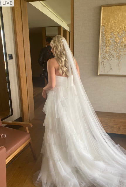 One Day Bridal – Size 12 A-Line dress | Second hand wedding dresses Willagee - 3