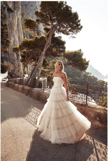 One Day Bridal – Size 12 A-Line dress | Second hand wedding dresses Willagee - 2