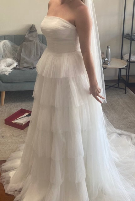 One Day Bridal – Size 12 A-Line dress | Second hand wedding dresses Willagee - 6