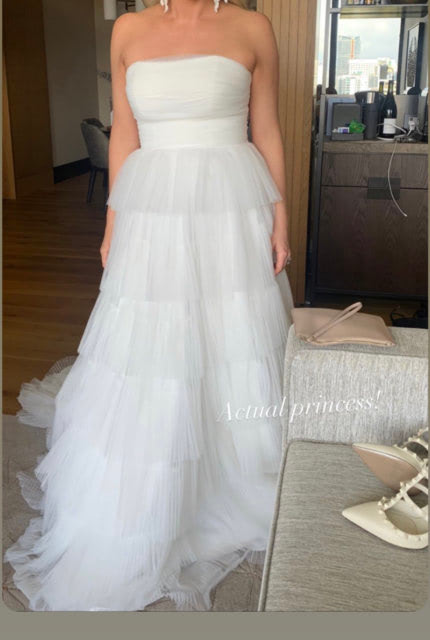 One Day Bridal – Size 12 A-Line dress | Second hand wedding dresses Willagee - 5