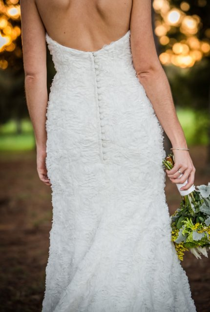 Rapsimo – Size 12 Fit and Flare dress   Second hand wedding dresses Adelaide - 2