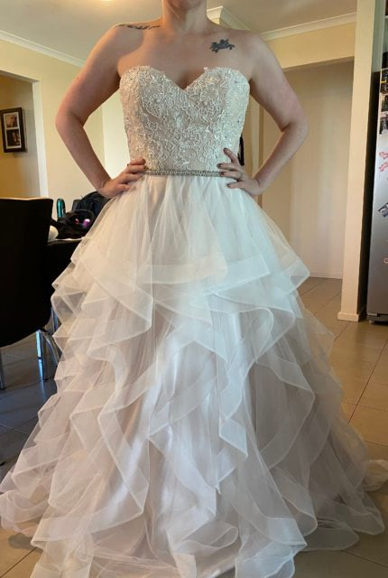 Bespoke / Other – Size 14 Strapless dress | Second hand wedding dresses Blakeview - Size 14