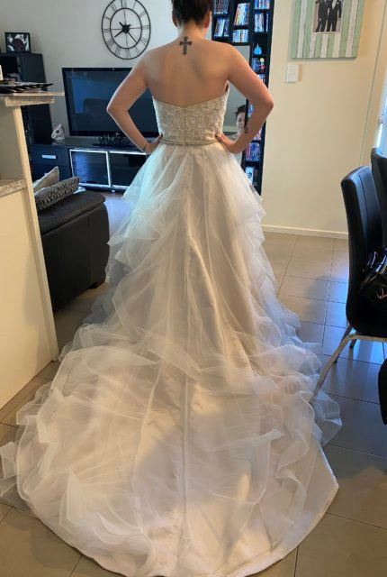 Bespoke / Other – Size 14 Strapless dress | Second hand wedding dresses Blakeview - 2