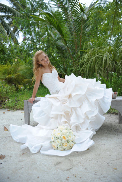 Halo Bridal – Size 8 Fit and Flare dress | Second hand wedding dresses Waverley - Size 8