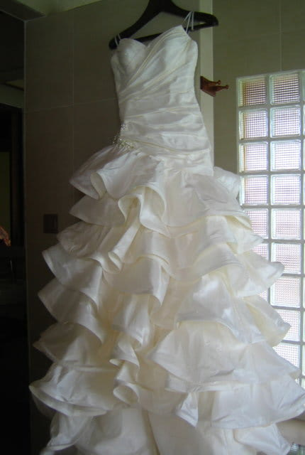 Halo Bridal – Size 8 Fit and Flare dress | Second hand wedding dresses Waverley - 3
