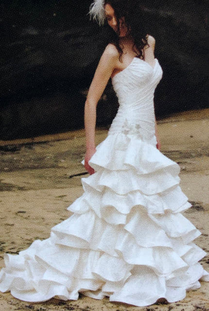 Halo Bridal – Size 8 Fit and Flare dress | Second hand wedding dresses Waverley - 2