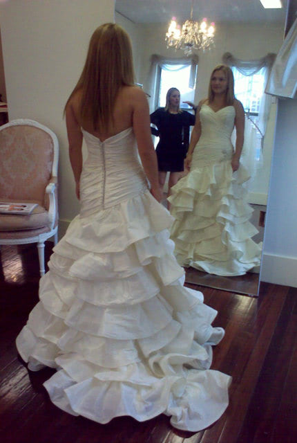 Halo Bridal – Size 8 Fit and Flare dress | Second hand wedding dresses Waverley - 5