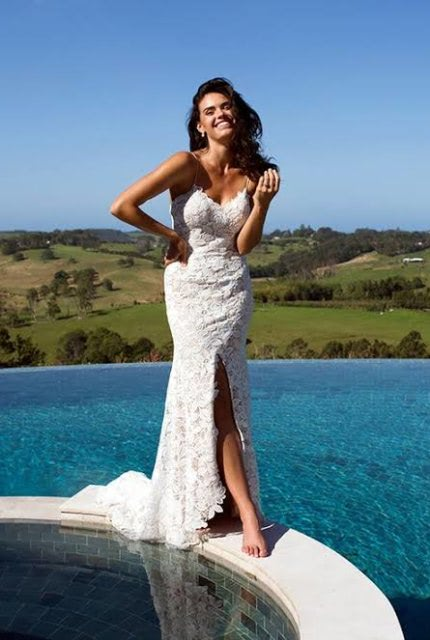 Bespoke / Other – Size 10 Fit and Flare dress | Second hand wedding dresses Canberra - 3