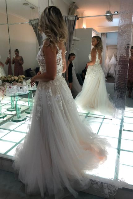 Collezione Bridal Couture – Size 10 Ball Gown dress | Second hand wedding dresses AVELEY - Size 10