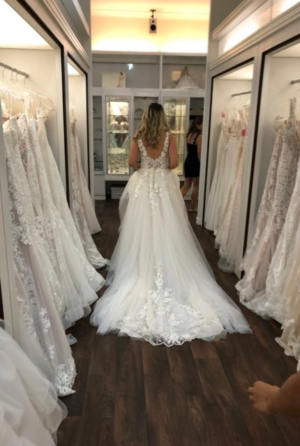 Collezione Bridal Couture – Size 10 Ball Gown dress | Second hand wedding dresses AVELEY - 4