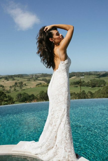 Bespoke / Other – Size 10 Fit and Flare dress | Second hand wedding dresses Canberra - 4