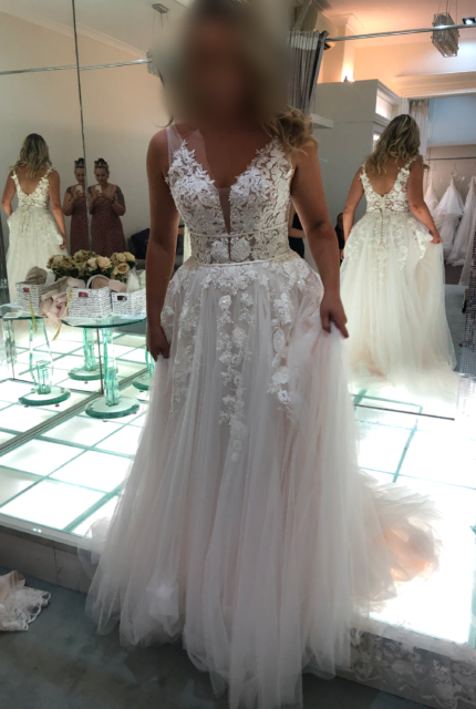 Collezione Bridal Couture – Size 10 Ball Gown dress | Second hand wedding dresses AVELEY - 3