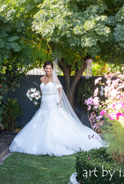 Mori Lee – Size 10 Fit and Flare dress   Second hand wedding dresses Airport West - 6