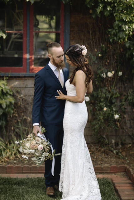 Bespoke / Other – Size 10 Fit and Flare dress | Second hand wedding dresses Canberra - Size 10