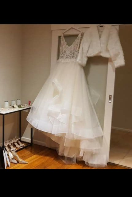Cizzy Bridal – Size 14 Ball Gown dress   Second hand wedding dresses Noble park north - 6