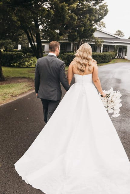 Martina Liana – Size 14 Ball Gown dress | Second hand wedding dresses Wollongong - 4