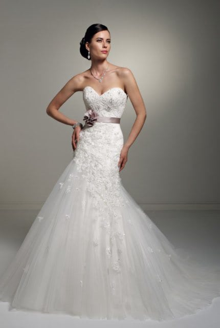 Sophia Tolli – Size 6 Fit and Flare dress | Second hand wedding dresses Balgownie - 2
