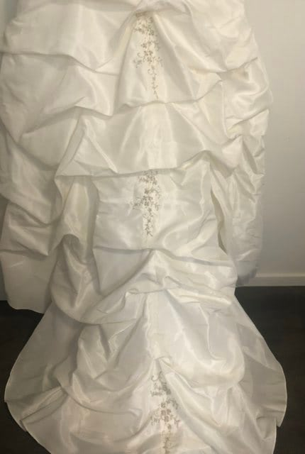 Christina Rossi – Size 10 Strapless dress | Second hand wedding dresses Tecoma - 6