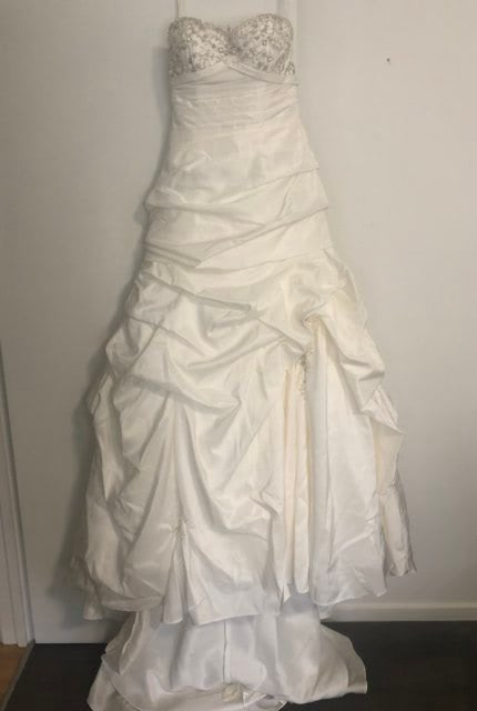 Christina Rossi – Size 10 Strapless dress | Second hand wedding dresses Tecoma - Size 10