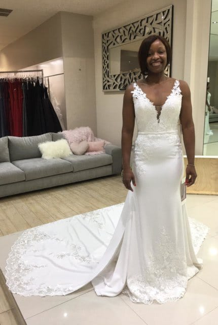 St. Patrick – Size 8 Fit and Flare dress | Second hand wedding dresses Point Cook - 3