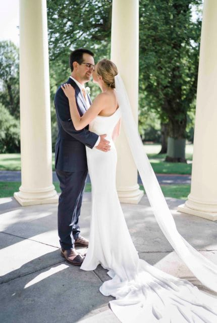 Enzoani – Size 6 Fishtail dress | Second hand wedding dresses GROVEDALE - 3