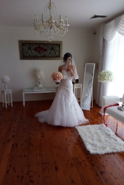 Sophia Tolli – Size 6 Fit and Flare dress | Second hand wedding dresses Balgownie - 7
