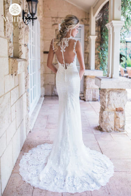 Bespoke / Other – Size 12 Fit and Flare dress | Second hand wedding dresses Clovelly Park - 2