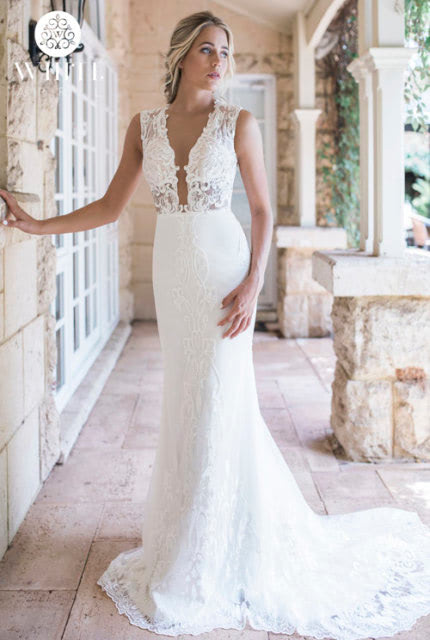 Bespoke / Other – Size 12 Fit and Flare dress | Second hand wedding dresses Clovelly Park - Size 12