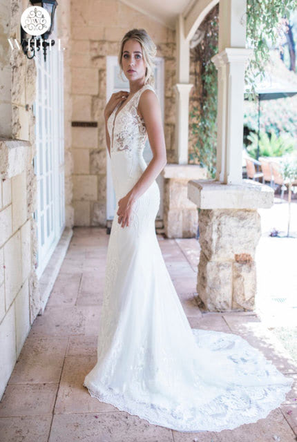 Bespoke / Other – Size 12 Fit and Flare dress | Second hand wedding dresses Clovelly Park - 3