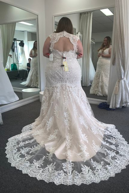 Allure Bridals – Size 24 Fit and Flare dress | Second hand wedding dresses Roselands - 2