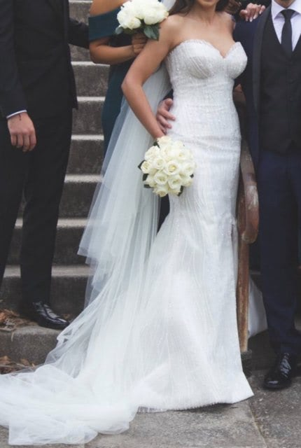Norma Bridal Couture – Size 8 Strapless dress | Second hand wedding dresses Ryde - 2