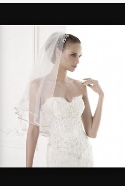 Pronovias – Size 8 Strapless dress | Second hand wedding dresses Paddington - 9
