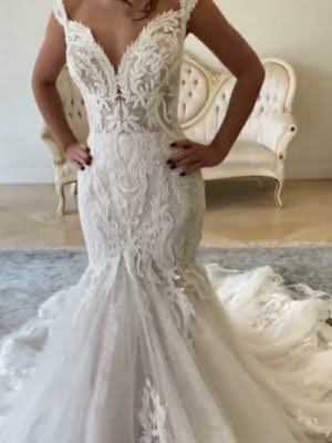 Fit and Flare dress by Maggie Sottero