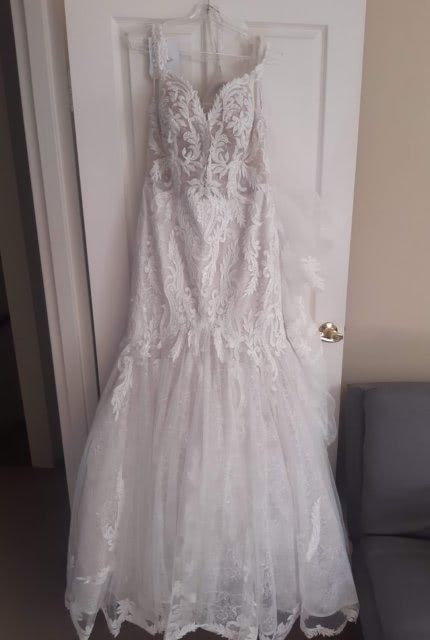 Maggie Sottero – Size 14 Fit and Flare dress | Second hand wedding dresses North Sydney - 4