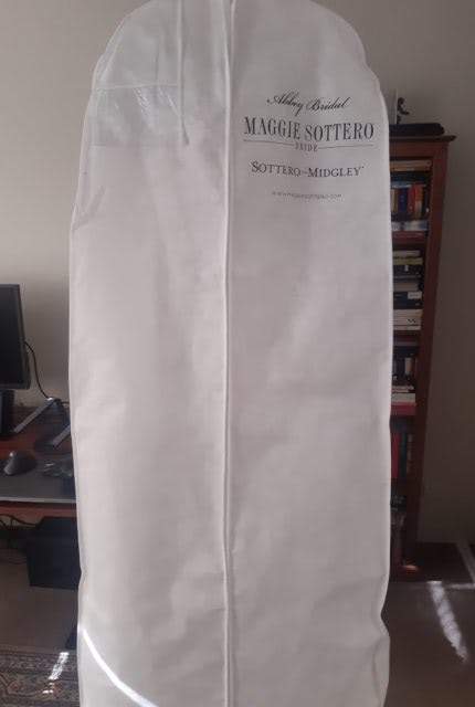 Maggie Sottero – Size 14 Fit and Flare dress | Second hand wedding dresses North Sydney - 5